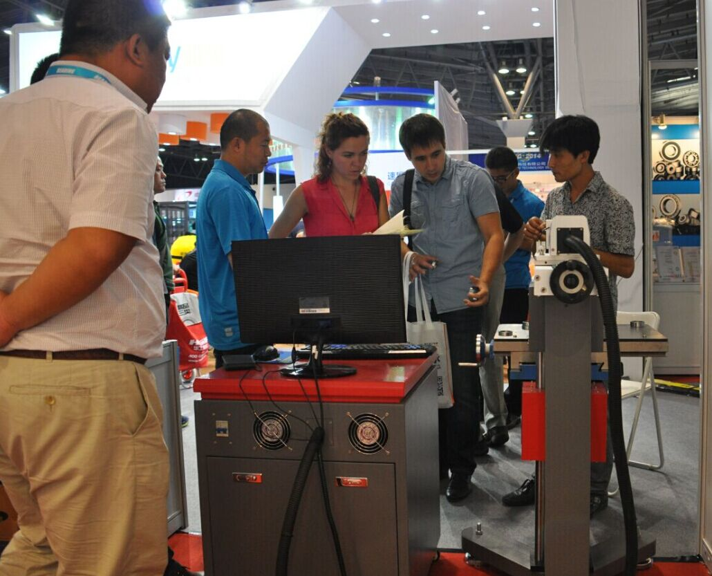 Laser marking machine first show in Shanghai