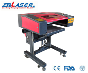 Laser machine for leather/ rubber/MDF/acrylic
