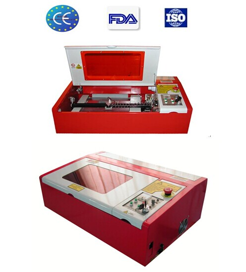 40W laser rubber stamp machine